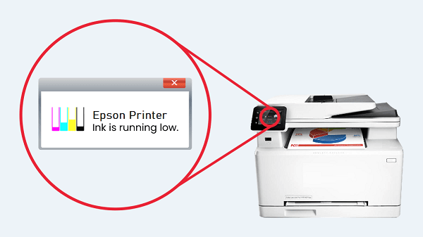 Override Epson printer low ink on Mac